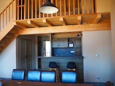 Rent in ski resort 5 room duplex apartment cabin 10 people - La Résidence - Les 2 Alpes - Table