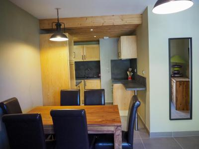 Location au ski Appartement 2 pièces cabine 6 personnes - La Résidence - Les 2 Alpes - Table
