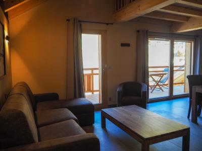 Location au ski Appartement 4 pièces 8 personnes - La Résidence - Les 2 Alpes - Canapé
