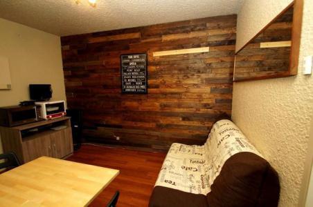 Rent in ski resort 2 room apartment 4 people (S3. bât 5) - La Résidence Côte Brune - Les 2 Alpes - Living room
