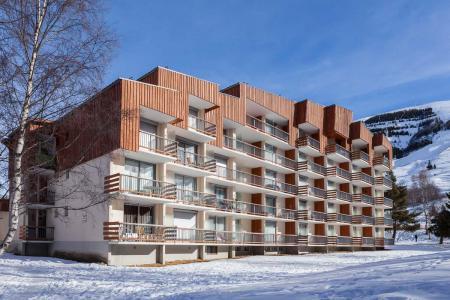 Location au ski La Résidence Côte Brune 5 - Les 2 Alpes - Extérieur hiver
