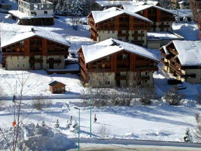 Location au ski Les Chalets D'or - Les 2 Alpes - Extérieur hiver