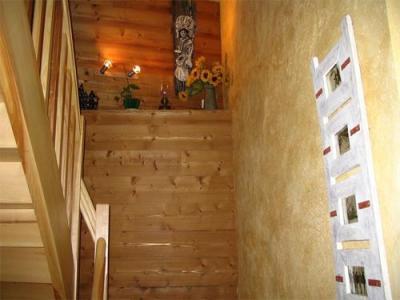 Location au ski Maison 6 pièces 12 personnes - Maison Montagnarde Les Copains - Les 2 Alpes - Escalier