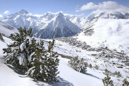 Location au ski Multi Residences 1650 - Diable - Les 2 Alpes - Extérieur hiver