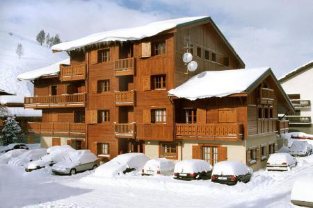 Location au ski Résidence Alpina Lodge - Les 2 Alpes - Extérieur hiver