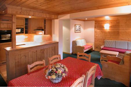 Location au ski Appartement 3 pièces cabine 8 personnes - Résidence Alpina Lodge - Les 2 Alpes - Kitchenette