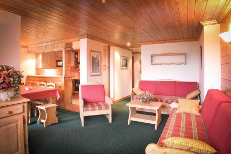 Location au ski Appartement 5 pièces cabine 10 personnes - Résidence Alpina Lodge - Les 2 Alpes - Séjour