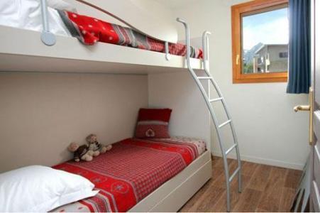 Location au ski Residence Au Coeur Des Ours - Les 2 Alpes - Lits superposés