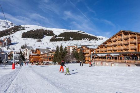 Vacances en montagne Résidence Cabourg - Les 2 Alpes - Extérieur hiver