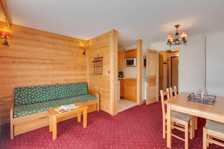 Location au ski Studio coin montagne 4 personnes - Résidence Champamé - Les 2 Alpes - Séjour
