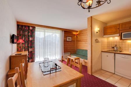 Location au ski Studio coin montagne 4 personnes - Résidence Champamé - Les 2 Alpes - Table