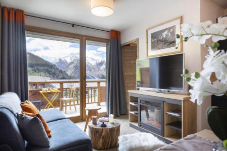 Location au ski Résidence Club MMV les Clarines - Les 2 Alpes - Canapé