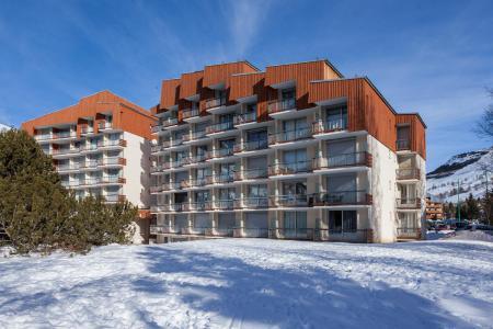 Location au ski Résidence Côte Brune 2 - Les 2 Alpes - Extérieur hiver