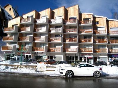 Location au ski Residence Equinoxe - Les 2 Alpes - Extérieur hiver