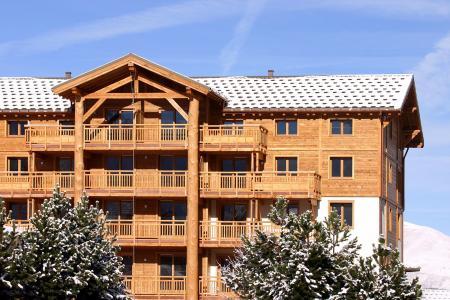 Location au ski Résidence l'Alba - Les 2 Alpes - Extérieur hiver