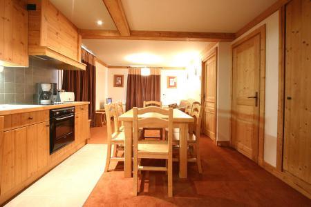 Location au ski Appartement 2 pièces coin montagne 4 personnes - Résidence l'Alba - Les 2 Alpes - Salle à manger
