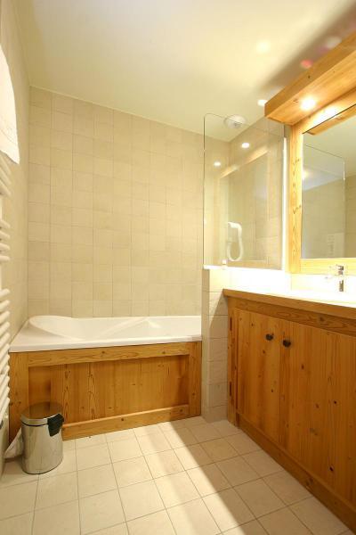 Location au ski Appartement 2 pièces coin montagne 4 personnes - Résidence l'Alba - Les 2 Alpes - Salle de bains