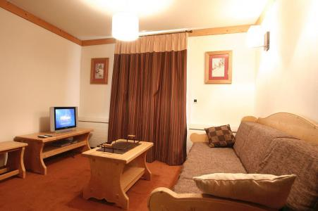 Location au ski Appartement 2 pièces coin montagne 4 personnes - Résidence l'Alba - Les 2 Alpes - Séjour