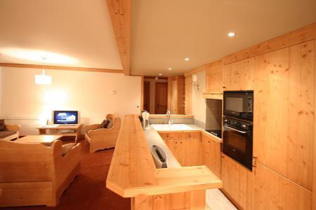 Location au ski Résidence l'Alba - Les 2 Alpes - Cuisine