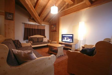 Location au ski Résidence l'Alba - Les 2 Alpes - Tv à écran plat