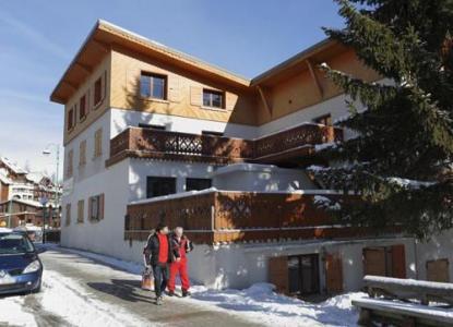 Location au ski Residence L'edelweiss - Les 2 Alpes - Extérieur hiver