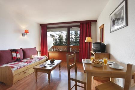 Location au ski Residence L'edelweiss - Les 2 Alpes - Séjour