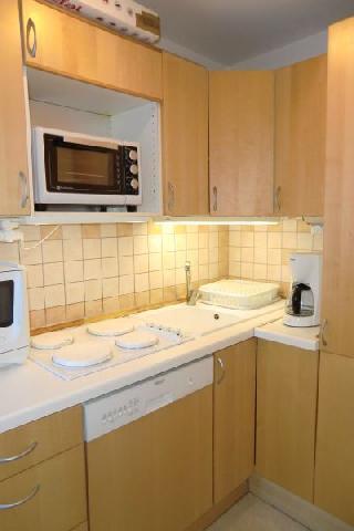 Location au ski Appartement 2 pièces 6 personnes (48) - Residence L'olympe - Les 2 Alpes - Cuisine