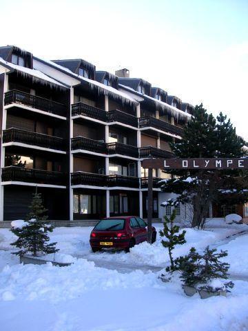 Location au ski Residence L'olympe - Les 2 Alpes - Extérieur hiver
