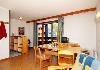 Location au ski Residence Le Flocon D'or - Les 2 Alpes - Séjour
