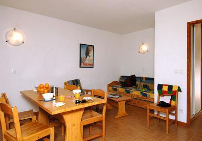 Location au ski Residence Le Flocon D'or - Les 2 Alpes - Salle à manger