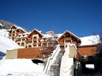 Location au ski Studio coin montagne 4 personnes (69) - Residence Le Pluton - Les 2 Alpes - Extérieur hiver