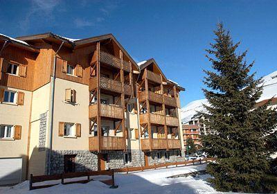 Location au ski Residence Le Surf Des Neiges - Les 2 Alpes - Extérieur hiver