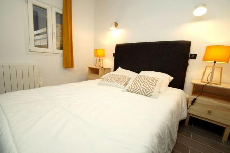 Rent in ski resort 2 room apartment sleeping corner 10 people (207 n'est plus commercialisé) - Résidence Les Marmottes - Les 2 Alpes - Double bed