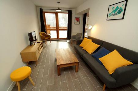 Rent in ski resort 2 room apartment sleeping corner 10 people (207 n'est plus commercialisé) - Résidence Les Marmottes - Les 2 Alpes - Living room