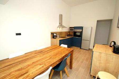 Rent in ski resort 2 room apartment sleeping corner 10 people (207 n'est plus commercialisé) - Résidence Les Marmottes - Les 2 Alpes - Table