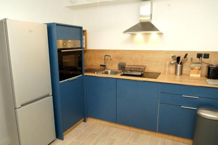 Rent in ski resort 2 room apartment sleeping corner 10 people (307) - Résidence Les Marmottes - Les 2 Alpes - Kitchenette