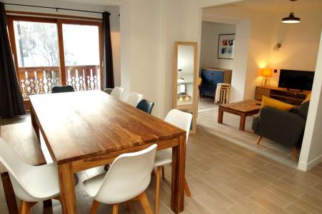 Rent in ski resort 2 room apartment sleeping corner 10 people (307) - Résidence Les Marmottes - Les 2 Alpes - Table
