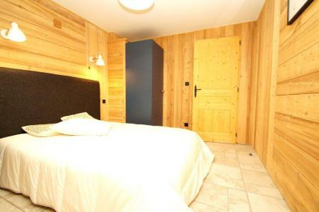 Rent in ski resort 2 room apartment sleeping corner 8 people (204) - Résidence Les Marmottes - Les 2 Alpes - Bedroom