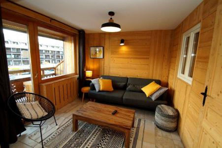 Rent in ski resort 2 room apartment sleeping corner 8 people (204) - Résidence Les Marmottes - Les 2 Alpes - Coffee table