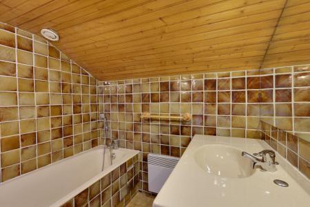 Rent in ski resort 2 room apartment sleeping corner 6 people - Résidence Saint Christophe - Les 2 Alpes - Bathroom