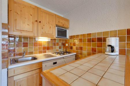 Rent in ski resort 2 room apartment sleeping corner 6 people - Résidence Saint Christophe - Les 2 Alpes - Kitchenette