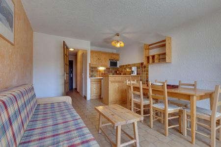 Rent in ski resort 2 room apartment sleeping corner 6 people - Résidence Saint Christophe - Les 2 Alpes - Living room