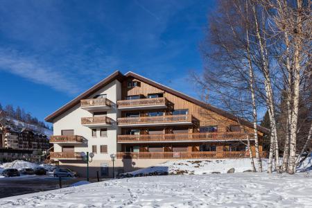 Rent in ski resort Résidence Saint Christophe - Les 2 Alpes - Winter outside