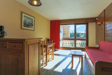 Location au ski Studio coin montagne 4 personnes - Résidence Saint Christophe - Les 2 Alpes - Banquette