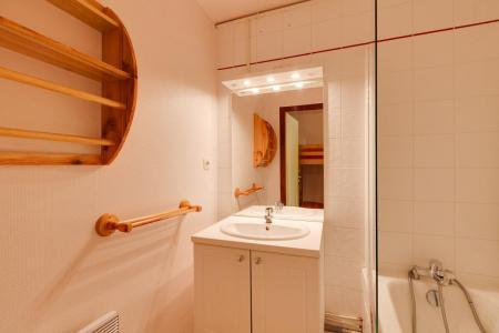 Location au ski Studio coin montagne 4 personnes - Résidence Saint Christophe - Les 2 Alpes - Salle de bains