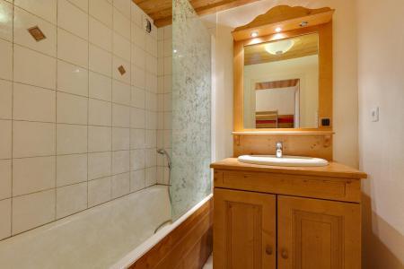 Rent in ski resort Studio sleeping corner 4 people - Résidence Saint Christophe - Les 2 Alpes - Bath-tub