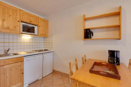 Rent in ski resort Studio sleeping corner 4 people - Résidence Saint Christophe - Les 2 Alpes - Kitchen