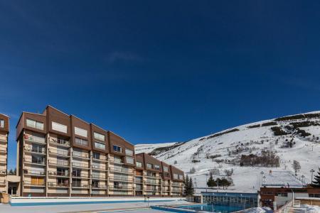 Vacances en montagne Résidence Vallée Blanche Chartreuse - Les 2 Alpes - Extérieur hiver