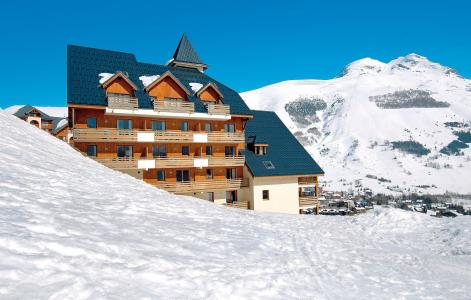 Rent in ski resort 2 room apartment 4 people (Prince des Ecrins) - Résidences Goelia les Balcons du Soleil - Les 2 Alpes - Winter outside