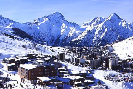 Location au ski Résidences les Deux Alpes 1800 - Les 2 Alpes - Extérieur hiver